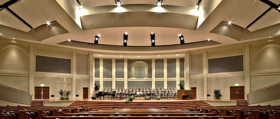Bag End Subwoofers installed in First Baptist Church, Simpsonville, SC