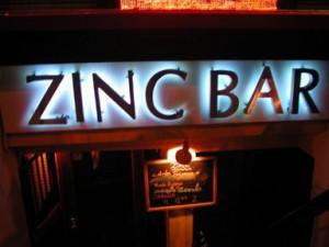 Bag End, Zinc Bar