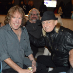 Keith Emerson, Alan White and Will Alexander hanging out at Namm