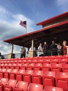 Bag End Speaker System Installed at the new LaRouche Stadium
