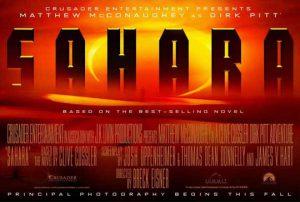Sahara Movie Poster