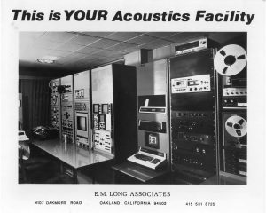 E. M. Long Associates This is YOUR Acoustics Facility