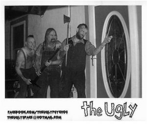 Artist Endorser Bill Robatzek (middle) with the Ugly Psycho