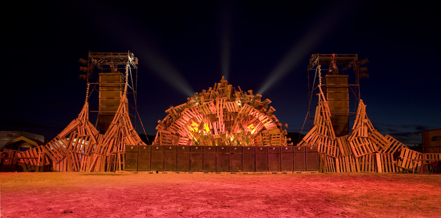 Bag End at Burning Man 2010