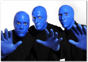 Bag End and Blue Man Group