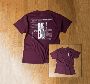 Maroon T-Shirt, Short Sleeve