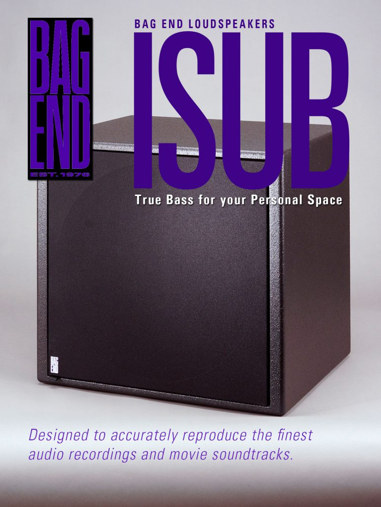 Home Theater and Studio, 5.1 Bass Management, ISUB-12 & ISUB-18 Powered Subwoofer Systems