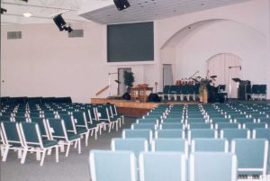 Presque Isle Wesleyan Church Before Shot