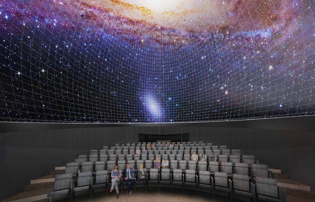 McMillan Planetarium, Bag End IPD12E-I subwoofers