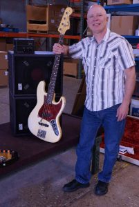 Bill Kovalsky with his bag end rig. s15-n and 515X-n