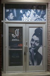 The Jewell Jazz Club front door