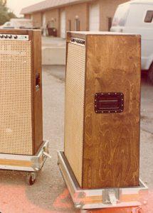 Waylon Jennings Custom Bag End Speaker Cabinets